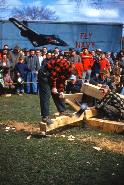 Lumberjack Competition - The Geauga County Maple Festival